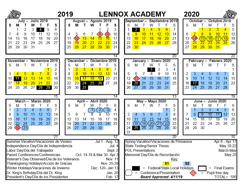 ucla law academic calendar